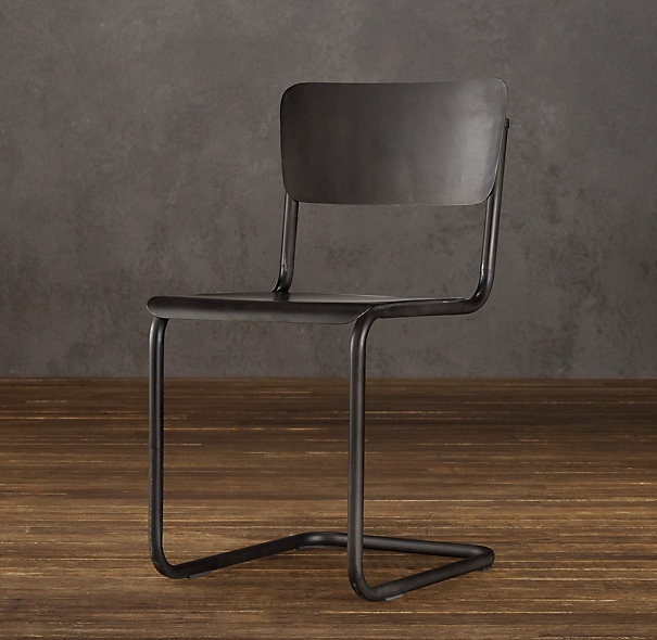 17 best images about for the home on pinterest leather for Restoration hardware metal chair