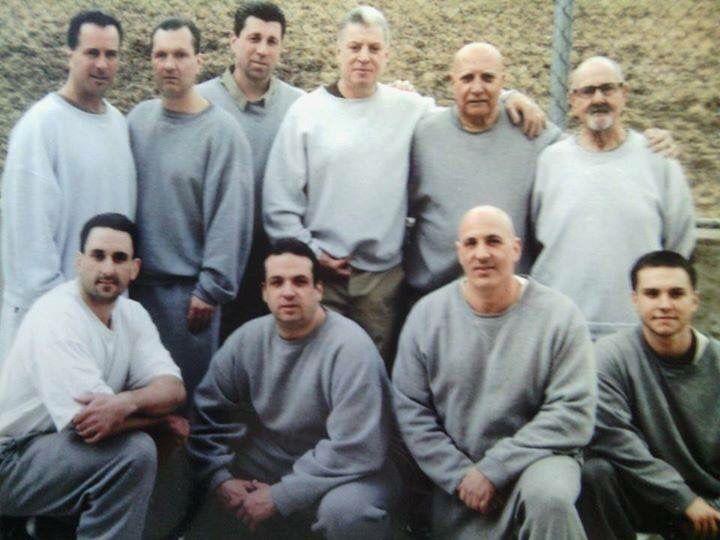 Left to Right:   (Back Row) Richie gotti, Vito Guzzo, Andy Merola, Ray Argentina, John Stanfa, Huck Cabonaro  (Front Row) Guido (last name?), Troy Damiano, Pete Plaia, Michael Pierleoni