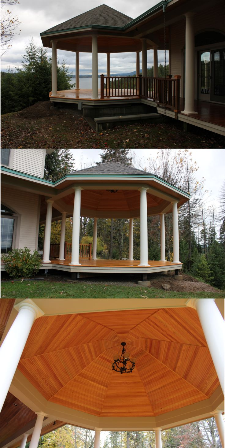 Custom Outdoor Spaces, Gazebo Ideas, North Idaho Living ... on Outdoor Living Spaces Nw id=94558