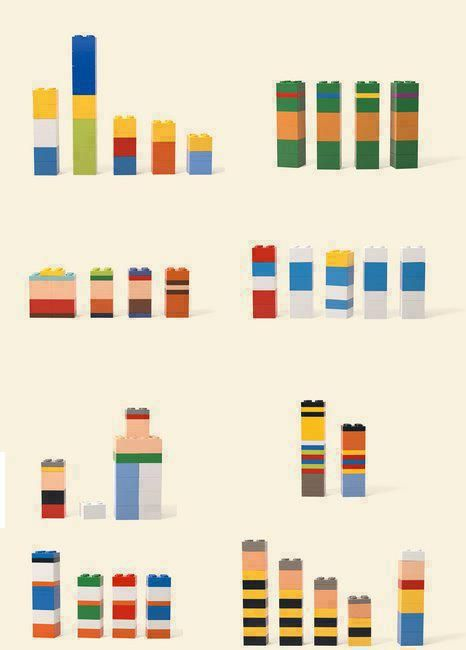 Legos are very cool. Is there anything they can't do? Really clever Lego structures, that should be very easy to describe.