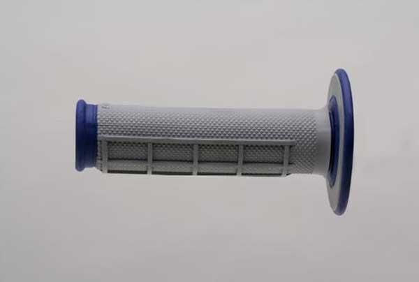 ΑΞΕΣΟΥΑΡ ΜΟΤΟΣΥΚΛΕΤΑΣ ΧΕΙΡΟΛΑΒΕΣ RENTHAL Χειρολαβές RENTHAL Dual Compound για χρήση MX/ENDURO μπλέ-γκρί G157