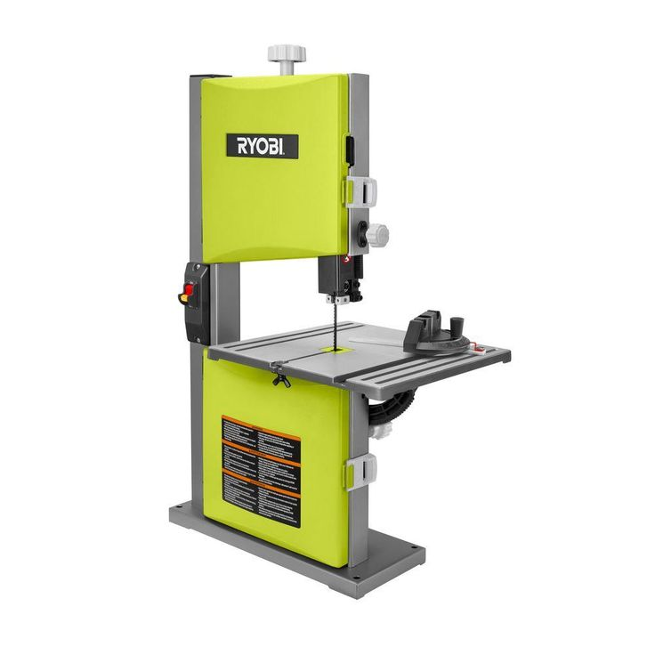 Ryobi 2.5 Amp 9 in. Band Saw in Green-BS904G - The Home Depot $120