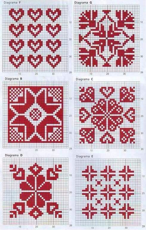 917 best Fair Isle Charts images on Pinterest | Knitting, Charts ...