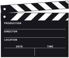 Freebie Filmklappe z.B. für Einladungen                                                                                                                                                      Mehr