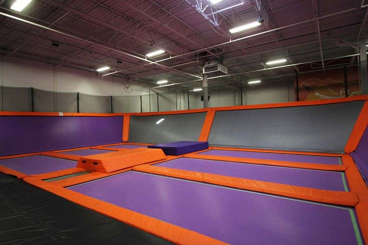 Dodgeball Courts at Air Trampoline Sports