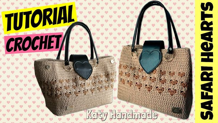 "Tutorial borsa uncinetto ""Safari"" 