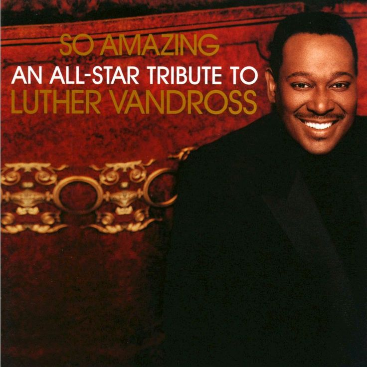 Various Artists - So Amazing: An All-Star Tribute to Luther Vandross (CD)