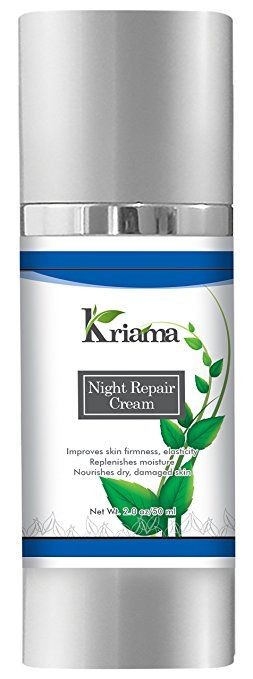 Kriama Night Repair Cream – The Best Anti Aging Moisturizer, Lifting & Firming Cream – Delivers Lifting Effect, Reduces Wrinkles,… Review