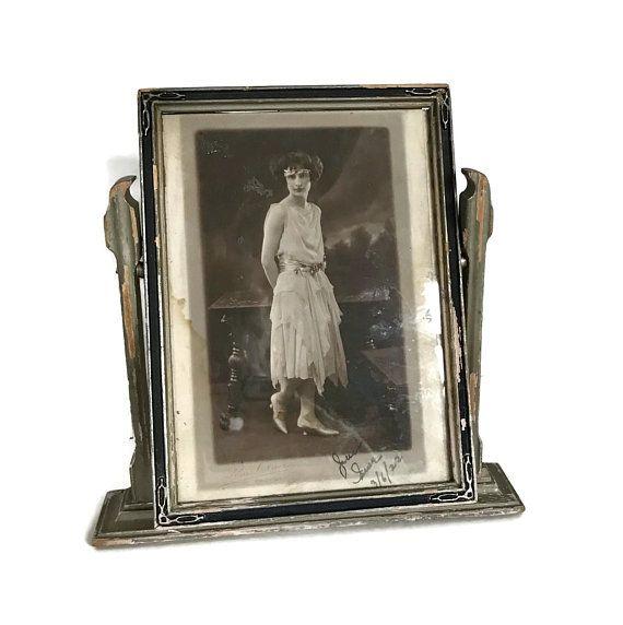 Vintage wood tabletop frame
