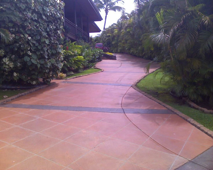 100 best images about driveways on pinterest permeable for Best way to get oil out of concrete