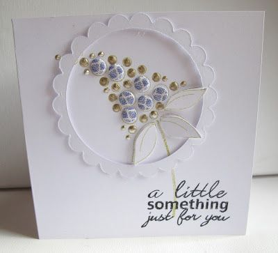 Craftwork Cards Blog: Blossoms and Candi.....