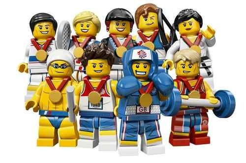 (NEW) Lego London 2012 Olympic Team GB - Complete Rare Limited Edition Set