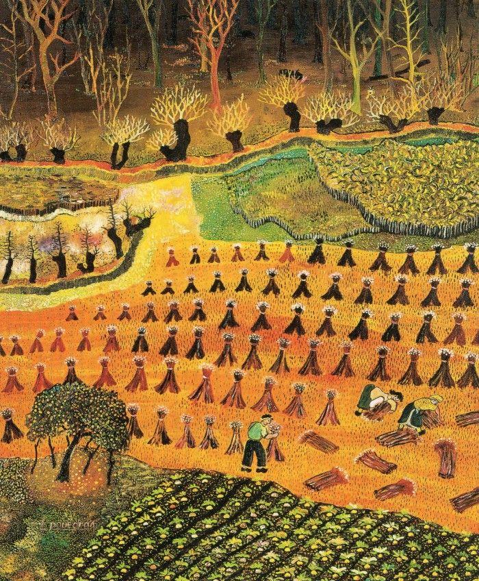 Lucien Pouëdras / la moisson du blé noir : les REGARDS.... de Gil ...