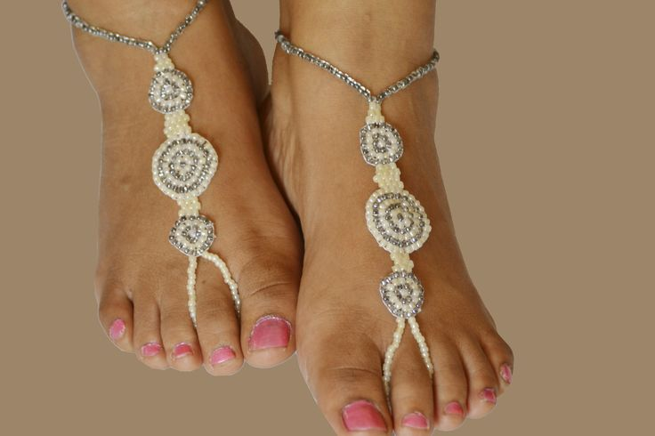 Beaded Feet Jewelry