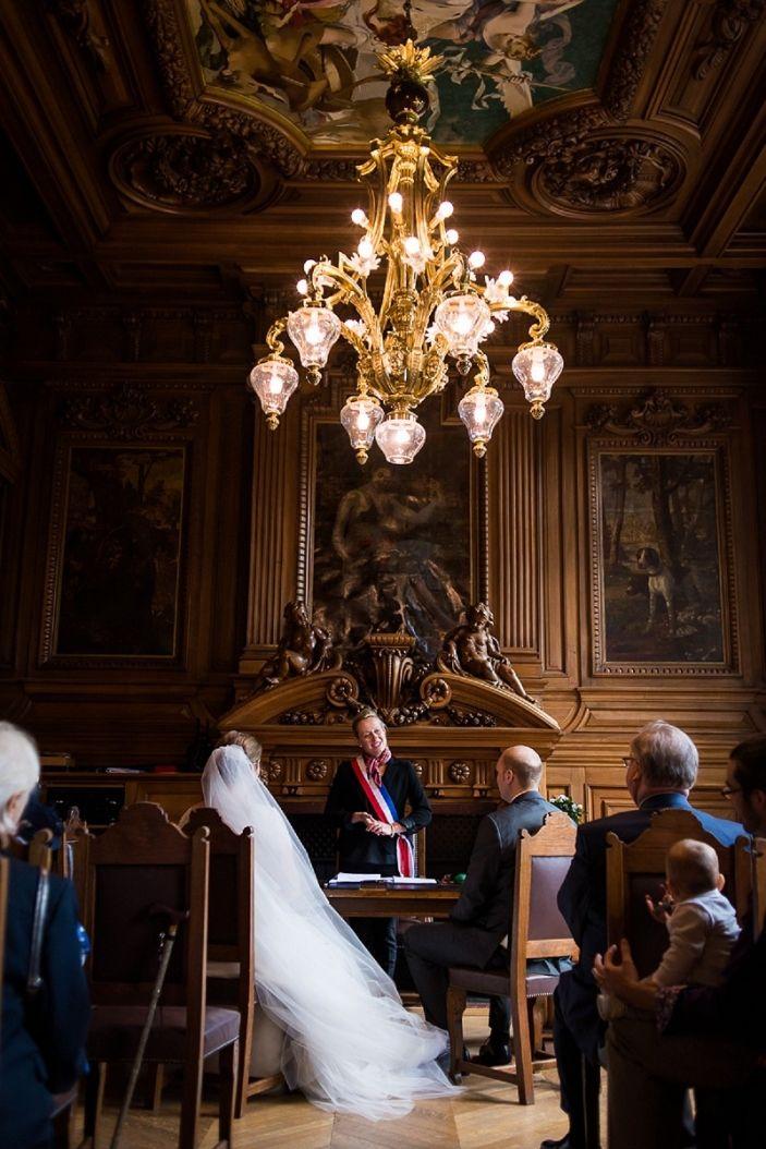 photos de mariage dans la superbe mairie de croix photographe lille