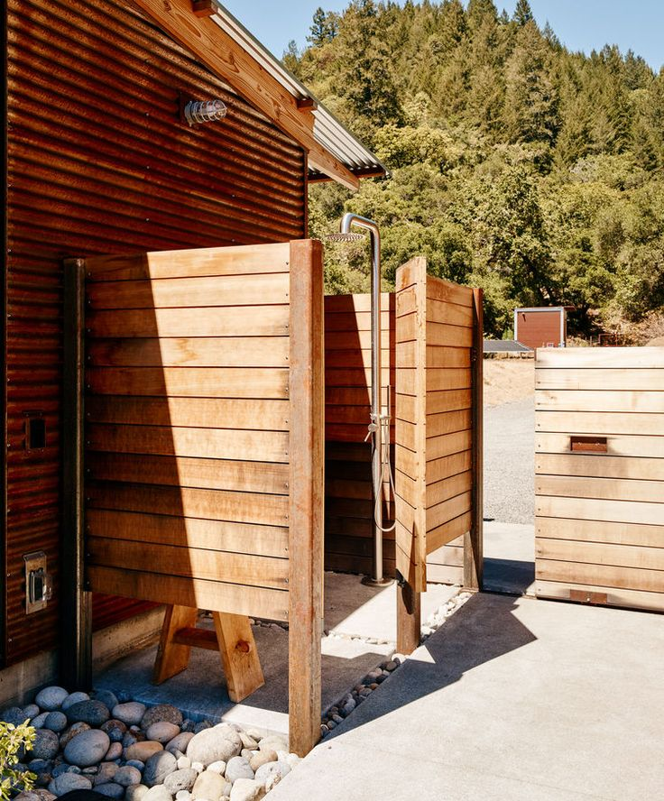 Bathroom Outdoor: At Home In The Modern World