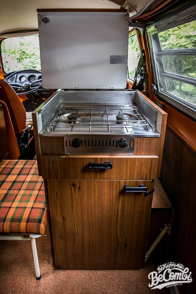 A L Interieur De Notre Combi Westfalia 1975 Be Happy Be Combi Combi T3 Combi Combi Vw T2