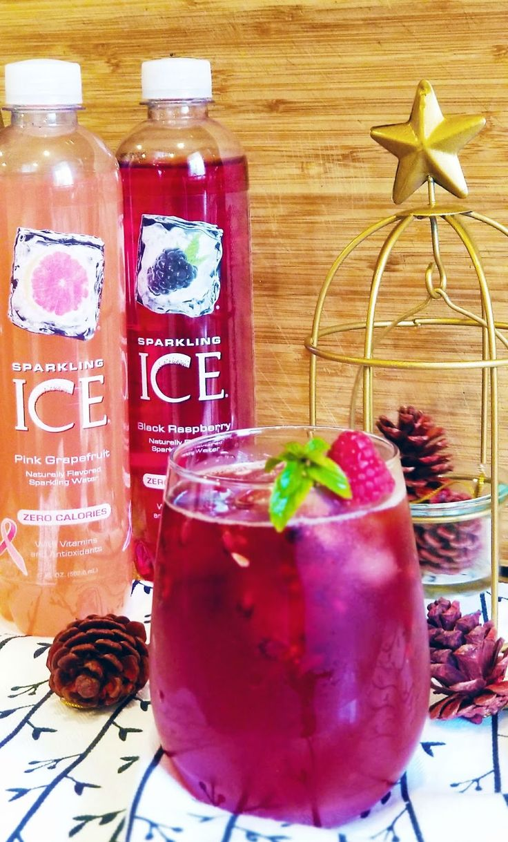 Sparkling Ice's pomegranate and Raspberry sangria https://ooh.li/b4665a2 #ad  The Blog By Taina
