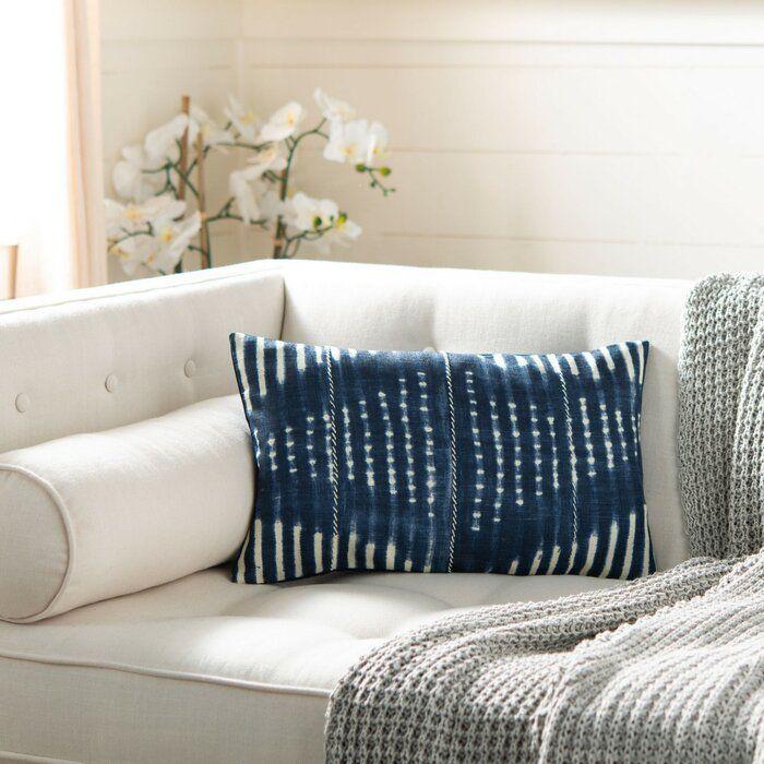 Mistana Zara Throw Pillow Wayfair In 2020 Blue Throw Pillows Throw Pillows Oblong Throw Pillow