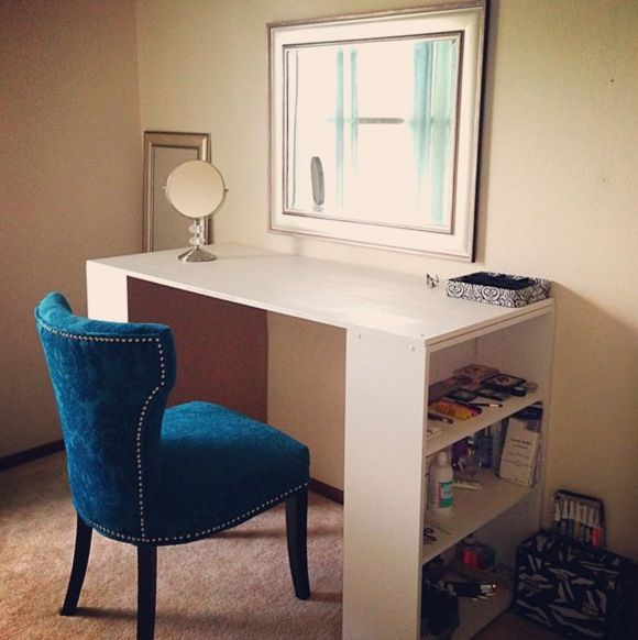 DIY Vanity Table House Stuff Pinterest Chairs Bookcases And The Chair