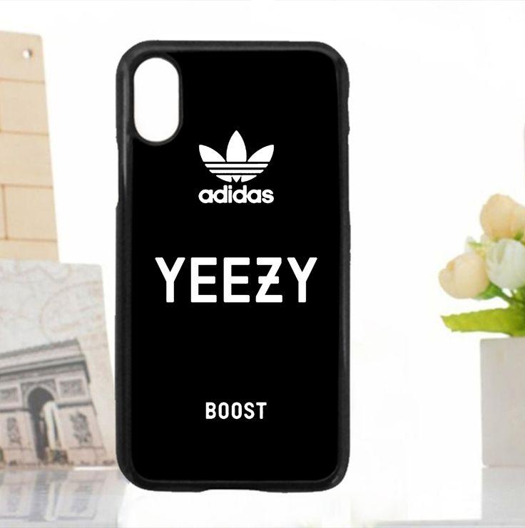 Adidas Yeezy Black White Case For iPhone 5 5s 6 6s 7 8 Plus X samsung S Edge No