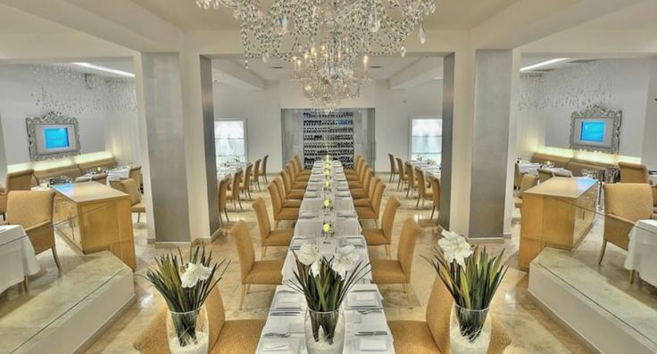 One of the restaurants found at the Le Blanc Resort Spa Cancun.  For more information about the Le Blanc Resort, or to book your romantic Cancun getaway, speak to one of our Vacation Specialists at 1-888-685-6888 or read our blog for more: http://ow.ly/FnF0A