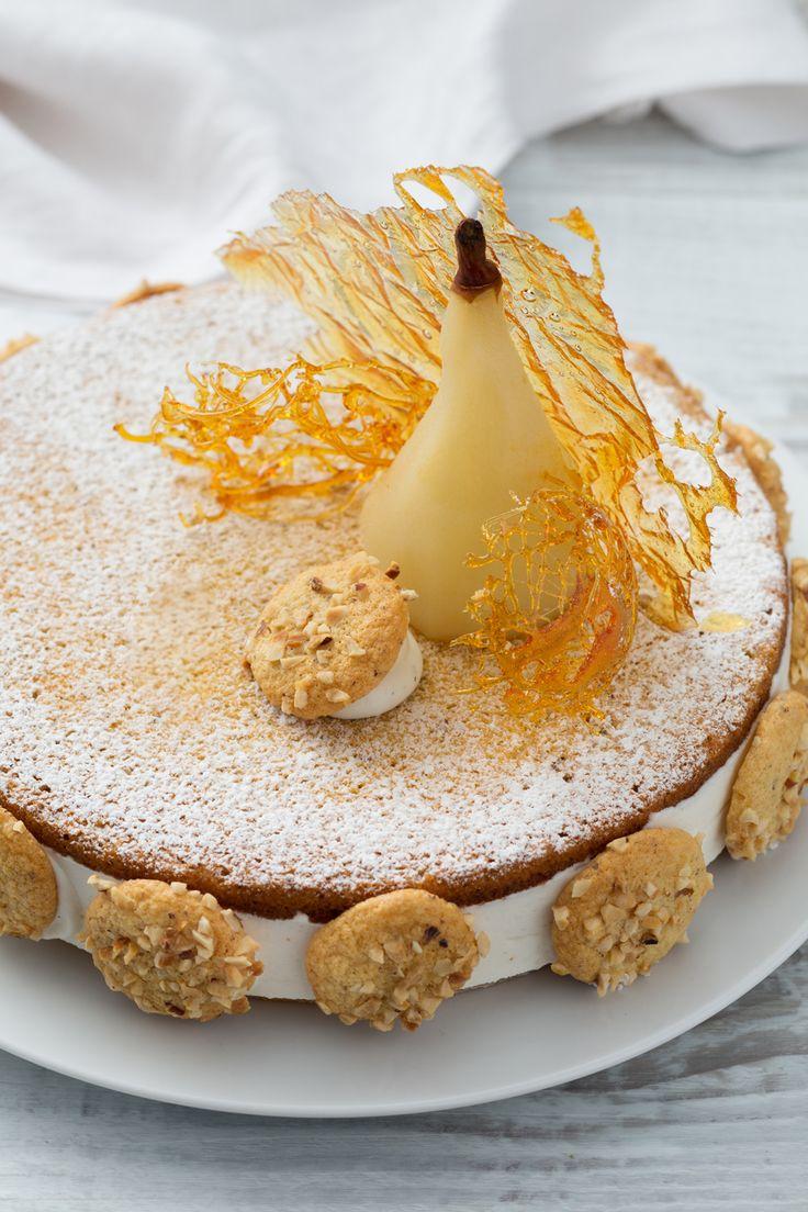 Torta ricotta e pere: il Maestro Pasticcere Sal de Riso ha preparato per noi uno dei suoi dolci più amati!  [Pears and ricotta cheese cake]