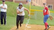 Mt. Hebron vs. Centennial softball  Aaliyah Montague-Bass of Mt. Hebron hustles down the third base line on her way to scoring on a wild pitch against Centennial.  http://www.baltimoresun.com/explore/howard/sports/bal-ppc-ph-ho-b-mth-cen-softbal-20130509-photo.html