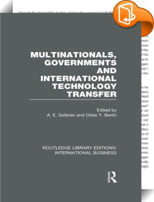 benefit of technology transfer to developing countries Request pdf on researchgate | transfer of technology to developing countries: unilateral and multilateral policy options | this paper analyzes national and international policy options to .