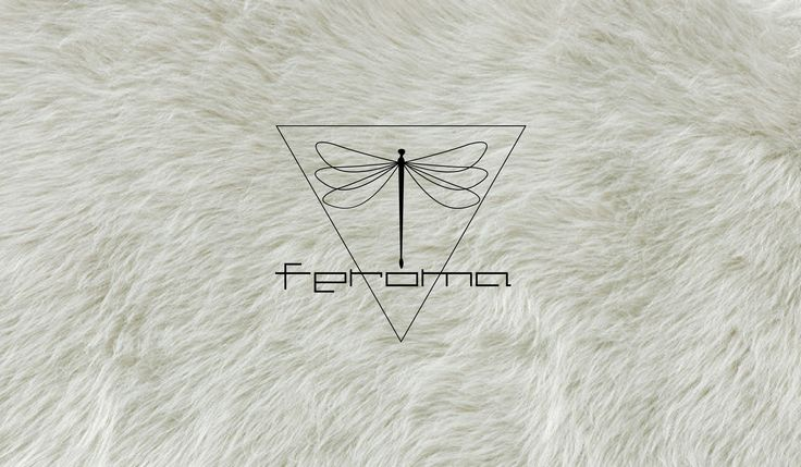 logotipo FEROMA, es una marca de ropa y moda femenina, el triangulo significa feminismo. lo que importa es el enfoque.