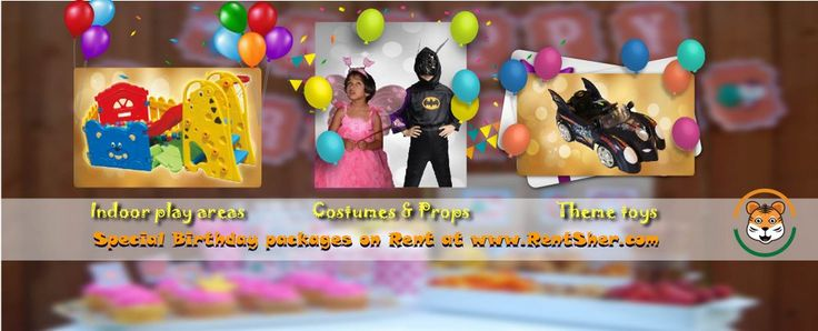 Special packages for birthday parties