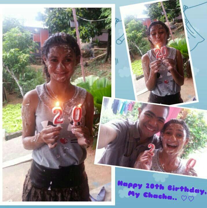 **Happy 20th #Birthday My Chacha! Love you like a lot.. :* :* ♡♡ #birthday #friend #friendship