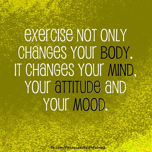 does exercise improve your attitude What attitude do healthy people take toward fitness advertisement advertisement let's discuss this answer within the context of our attitudes toward exercise for example if you love golf then be sure your workouts improve your golf game.