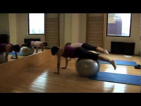 Ejercicios Pilates con Pelota Medicinal Yoga para Gimnasia Teletienda Internacional OficialTV.com