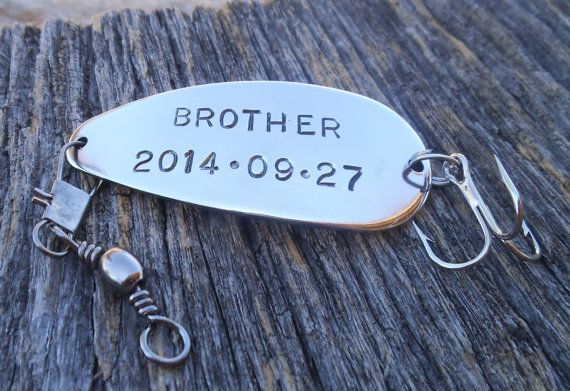 Personalized Fishing Lure Brother of the Bride by CandTCustomLures, $32.00