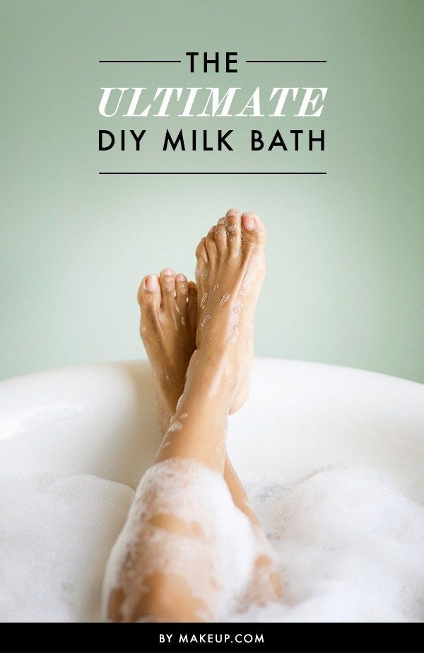 A milk bath is basically what you need right now. In addition to their relaxation benefits (and helping you forget about your worries), milk baths leave your skin feeling soft, refreshed and incredibly moisturized. Here's our guide to making a soothing milk bath at home!