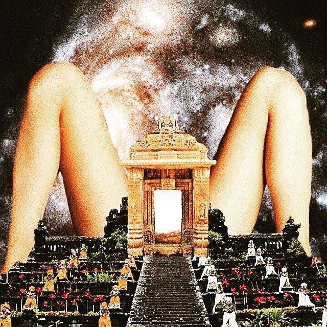 Open Your Box. Open your legs! #openyourbox #collage #surreal #legs