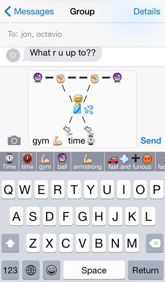 Keymoji, An Emoji Autocomplete Keyboard App for iPhone and iPad