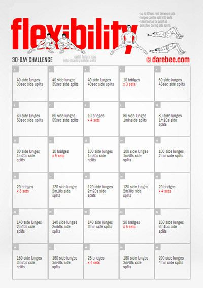 21 best My 30-Day Fitness Challenges (really....they're ...
