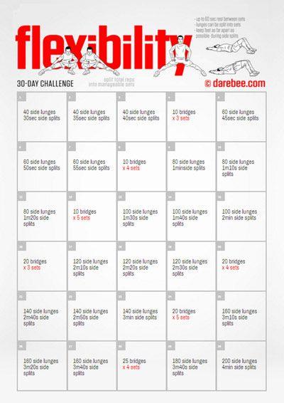 Flexibility Challenge
