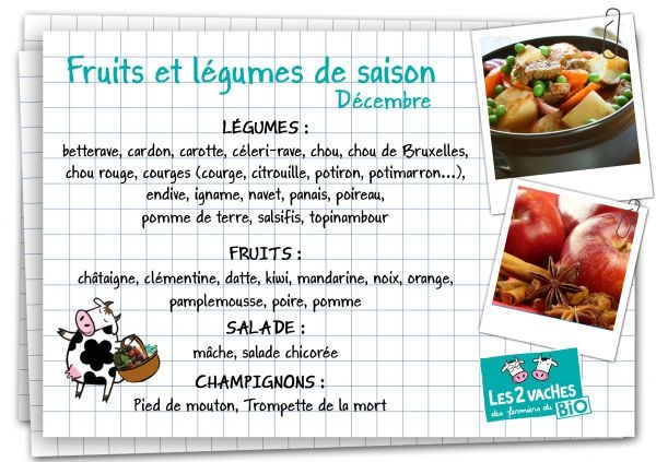 17 best images about les fruits et l gumes de saison on pinterest mars blog and legumes - Legumes et fruits de saison decembre ...