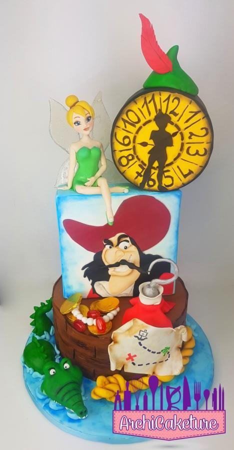 PETER PAN CAKE - Cake by Archicaketure_Italia
