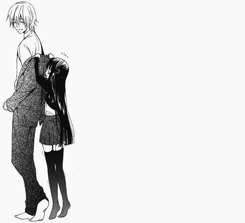 anime, couple, inu x boku ss, manga