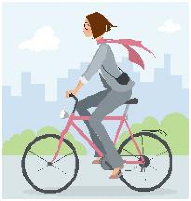 Paseo en bicicleta Hoy después de la siesta Me iré de