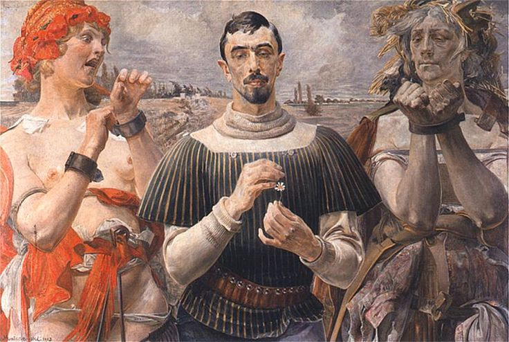 Hamlet polski. Portret Aleksandra Wielopolskiego, 1903.