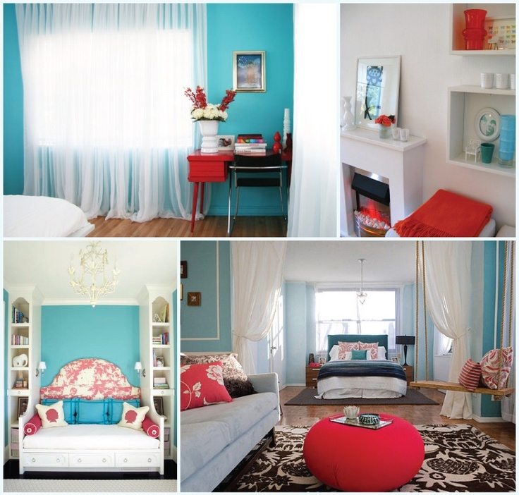 69 Best Turquoise And Red Images On Pinterest