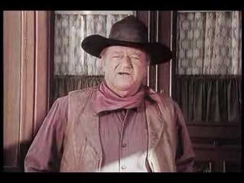 The Great John Wayne in a commercial from 1976 for US Savings Bonds