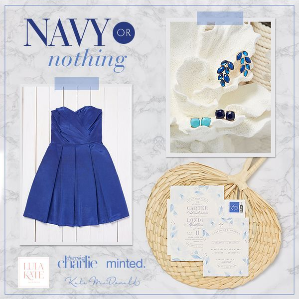 Enter for a chance to win UP TO $1,000 towards bridesmaid accessories from @charmingcharlie + $1,250 towards bridesmaid dresses from @lulakate + $500 to @minted + a @katemcdonaldbridal 'Nancy' dress just for YOU. To enter: Click through this image + Pick your favorite colorful look or upload your own + Fill out the entry form. It's that easy. [Note: Open to US residents only. Sweepstakes runs 6/2/16 - 6/19/16. Click through pin for official rules.] [Promotional Pin]