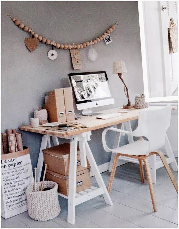 10 espacios de trabajo con Ikea Finnvard
