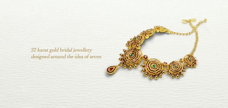 Bridal jewellery inspired by the seven vows